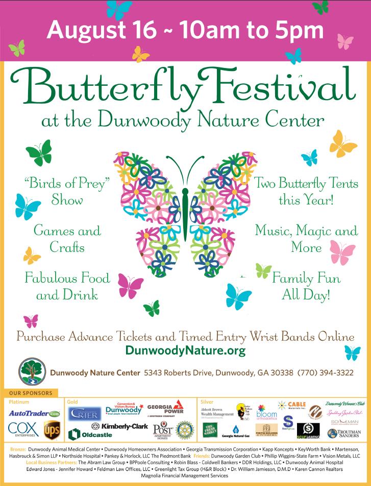 Dunwoody Nature Center Admission