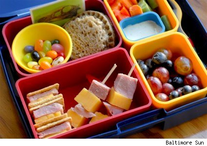 More than 30 Great Packed Lunch Ideas. Whether your kids are eating at school or at home, I'm sharing 30 of my favorite packed lunch ideas for kids ages toddler to teens. From meal prep tips to ideas for picky eaters, these easy, make-ahead lunches include healthy options and even options for clean eating kids. Enjoy! Healthy Chicken Nuggets.