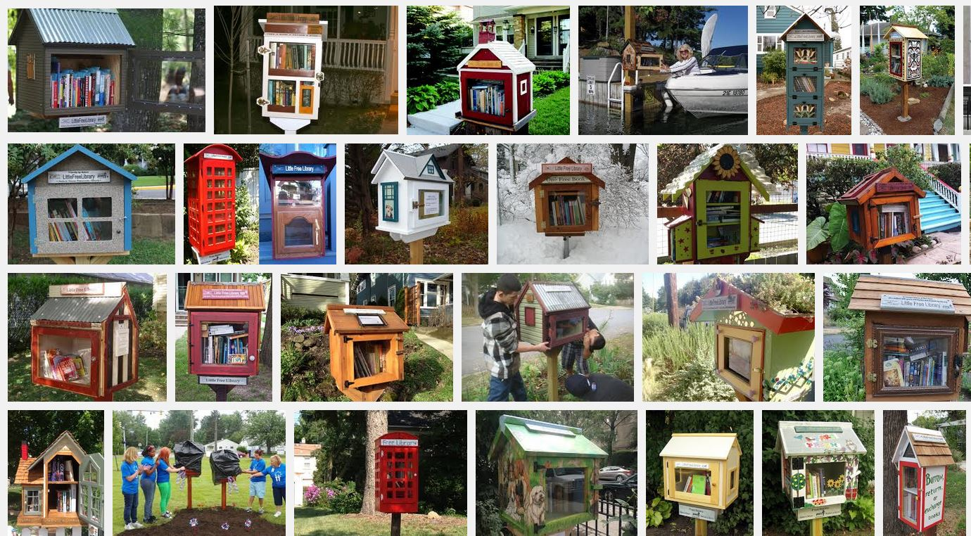 Does anyone want to build Audra a Little Free Library? - The Aha! Connection