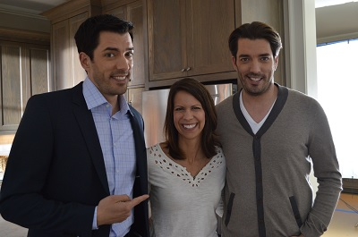 Property brothers shooting commercials in sandy springs the aha
