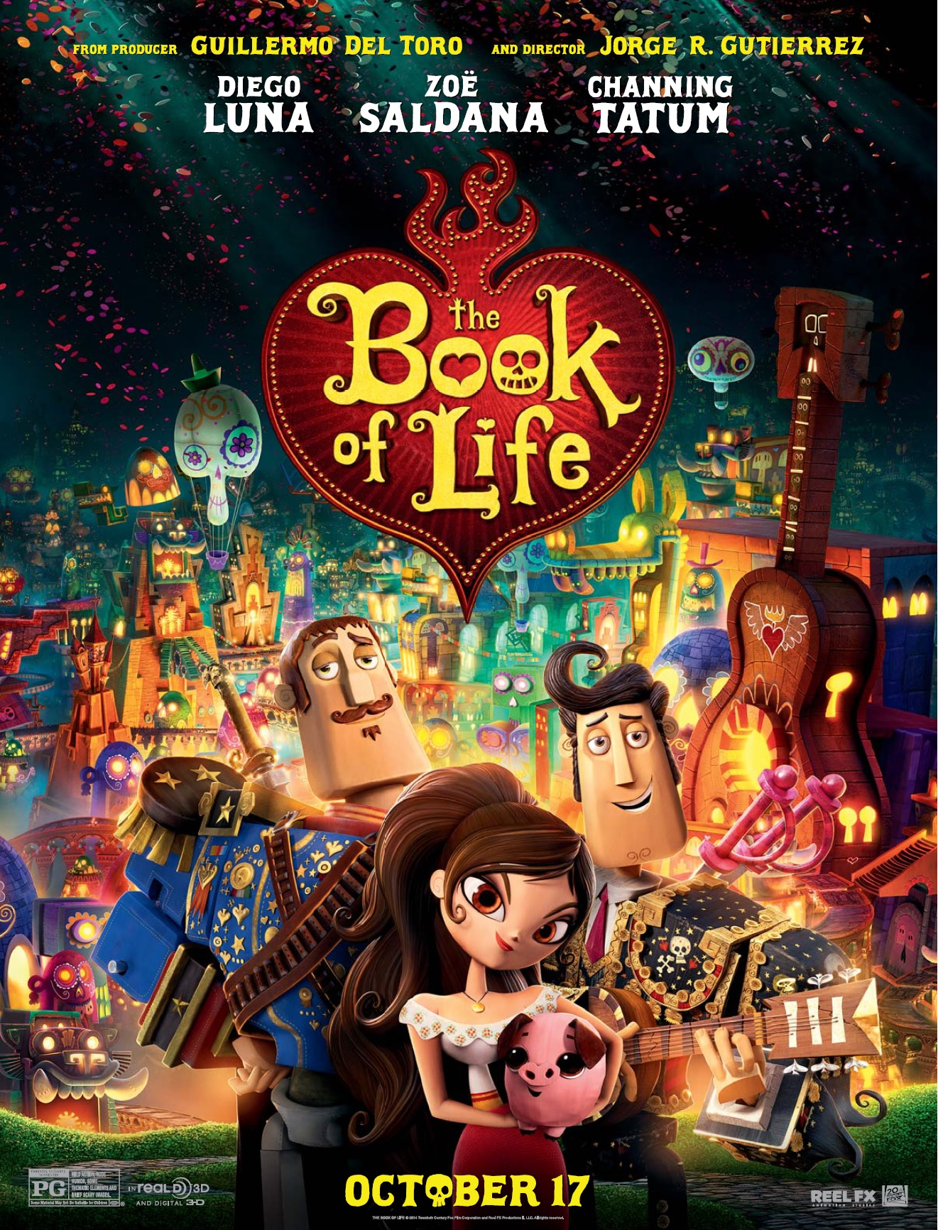 book of life The book of life (2014) summary of box office results, charts and release  information and related links.
