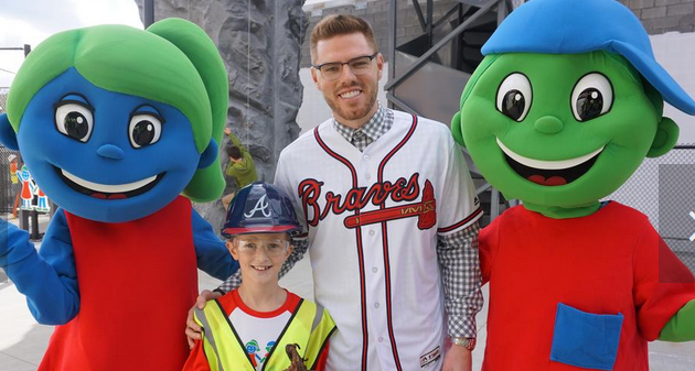 e85ed97e571 The Atlanta Braves inked a multi-year partnership with Children s Healthcare  of Atlanta to create a large