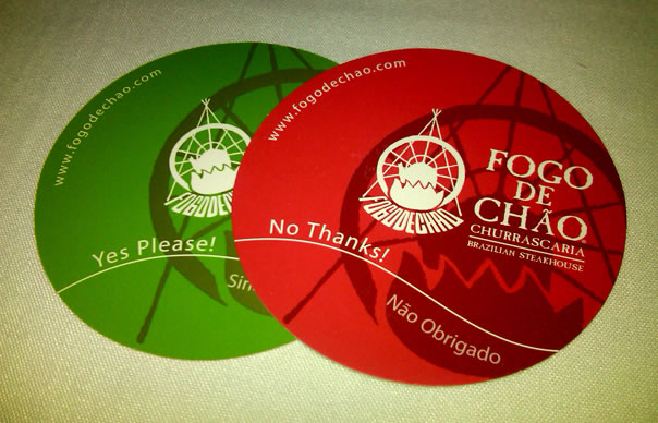 Image result for fogo de chao button