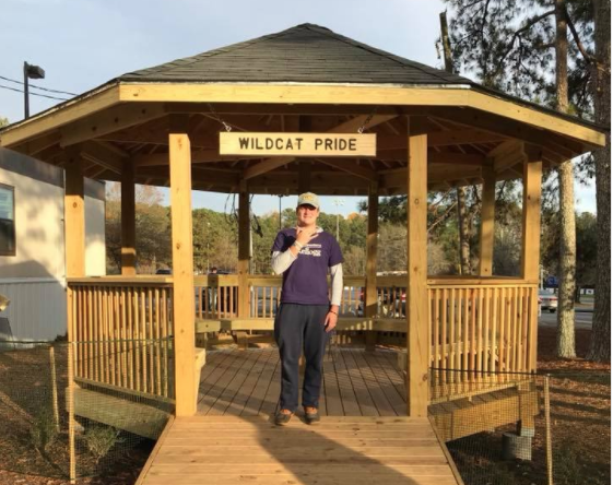 Congratulations to @BartelMatt and his helpers on completing a gazebo for @DunwoodyHS as his BSA Troop 764 Eagle Scout Project. Itu0027s a wonderful addition to ... & Matt Bartel Builds a Gazebo at Dunwoody High School for Eagle Scout ...