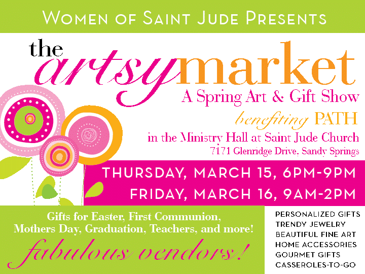 The 5th Annual Artsy Market at Saint Jude
