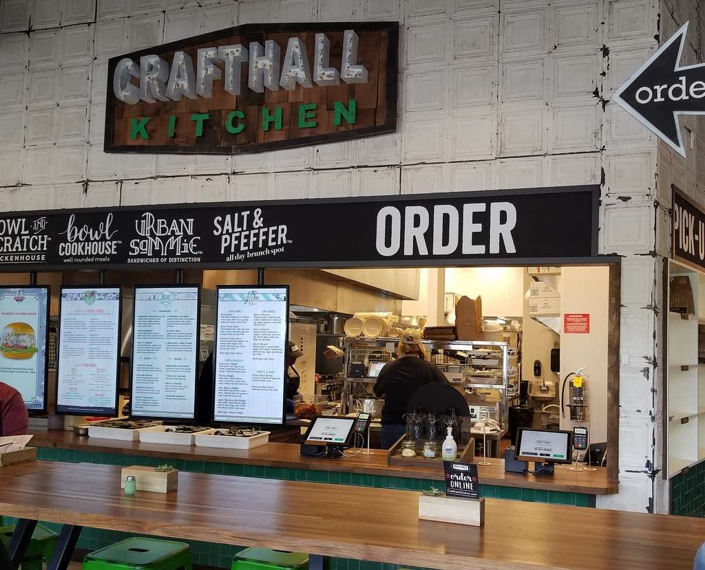Crafthall Kitchen is open in Sandy Springs (the shopping center next to REI and Tiff's Treats). It is multiple restaurant concepts under one roof.