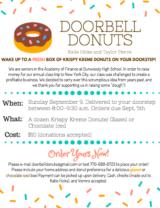 Doorbell Donuts!