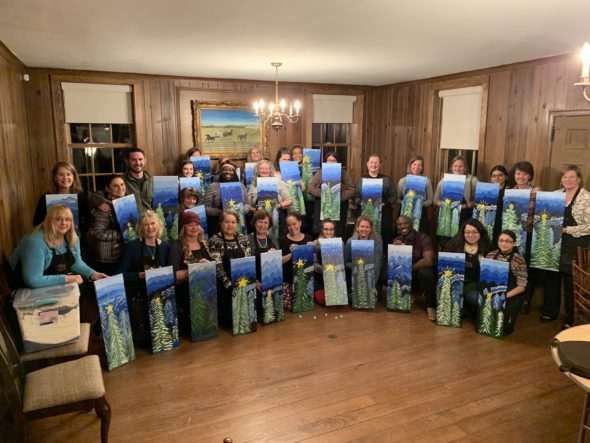 Painting With A Twist Partners With Christmas For Kids The Aha