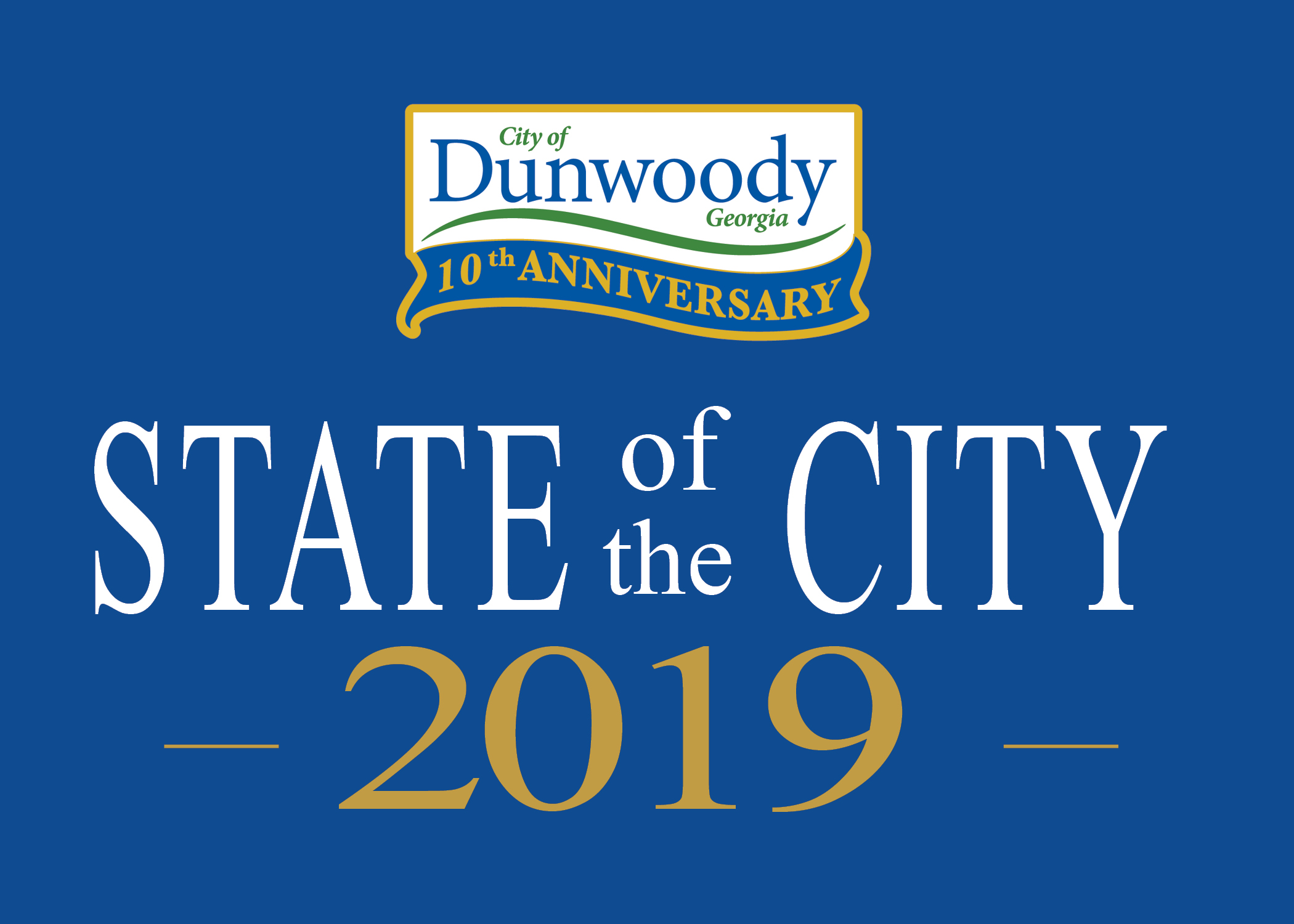 Dunwoody State of the City Address