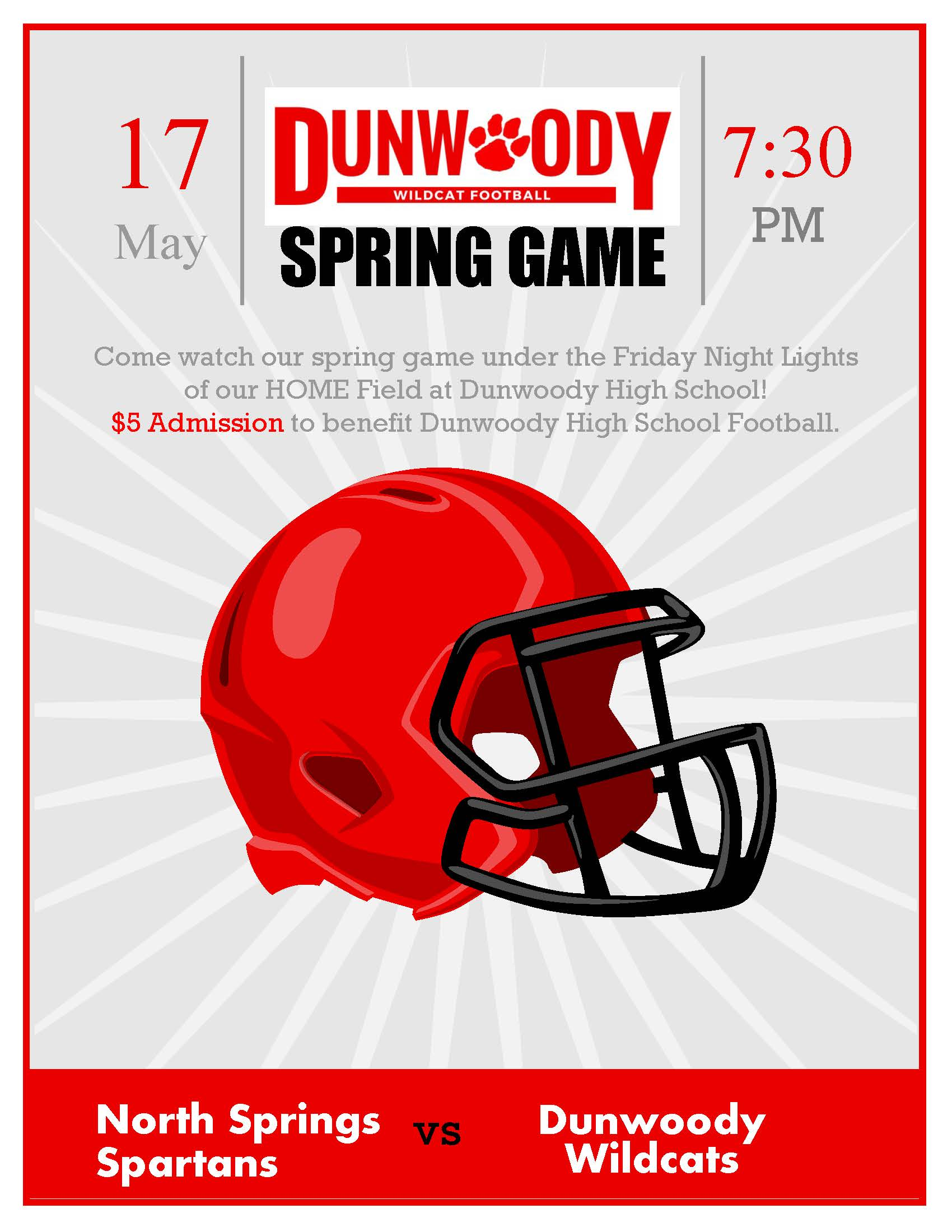 DHS Spring Football Game