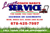 Coach Nash's Lawn Service