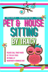 Pet & House Sitting by Tracy Nash