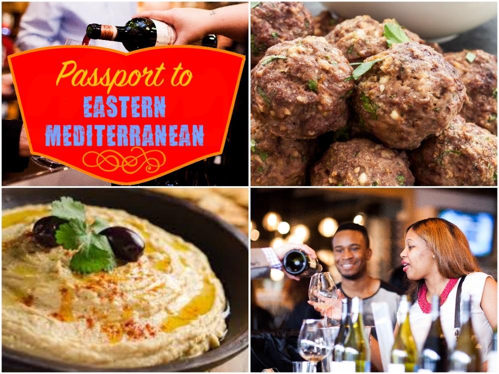Passport to Eastern Mediterranean: A Wine & Food Tasting Experience