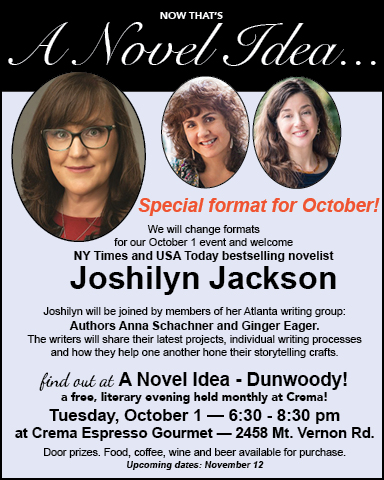 Best selling author Joshilyn Jackson at A Novel Idea in Dunwoody