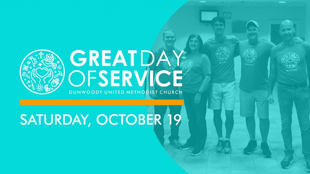 DUMC Great Day of Service—Registration Open!