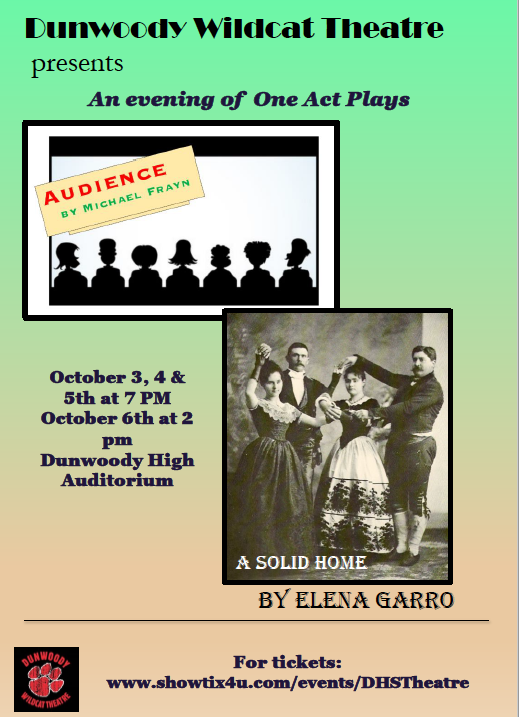 "DHS Wildcat Theatre Presents:  ""An Evening of One Act Plays"""