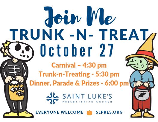 Trunk - N - Treat at Saint Luke's Pres