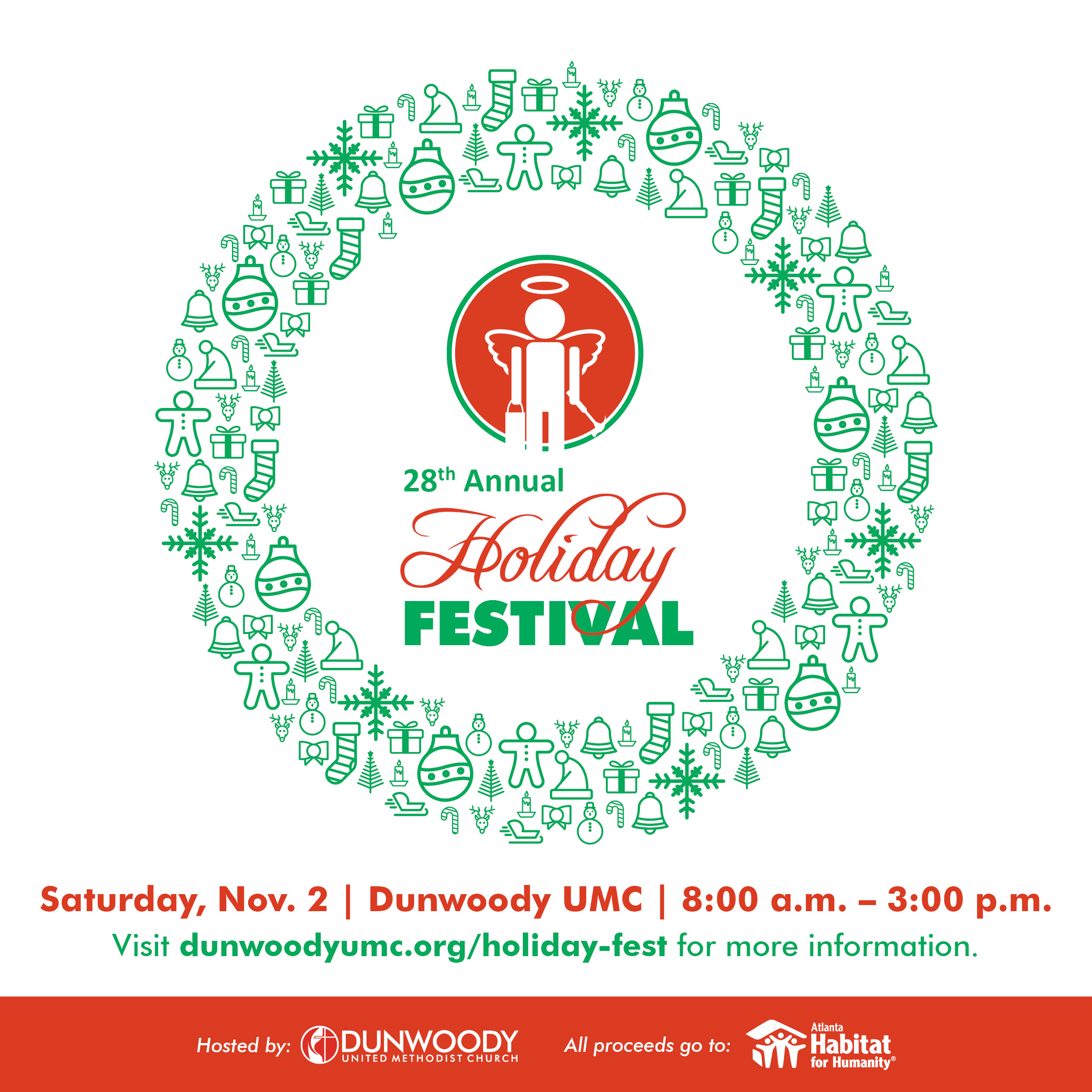 Dunwoody UMC's Annual Holiday Festival
