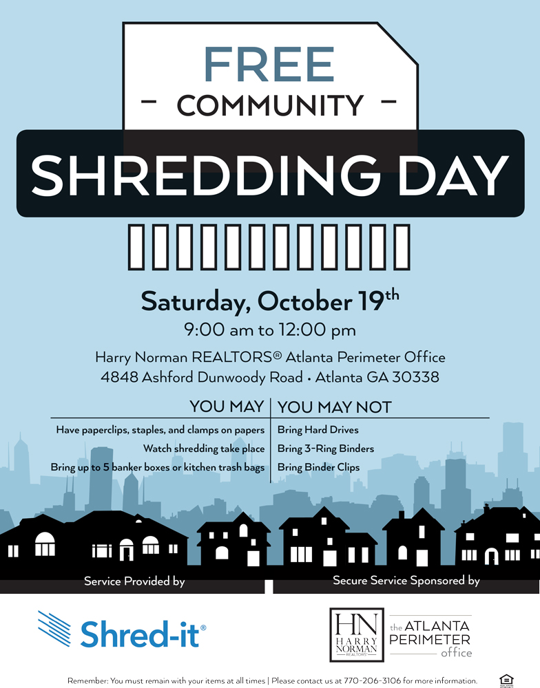 FREE Community Shredding Event