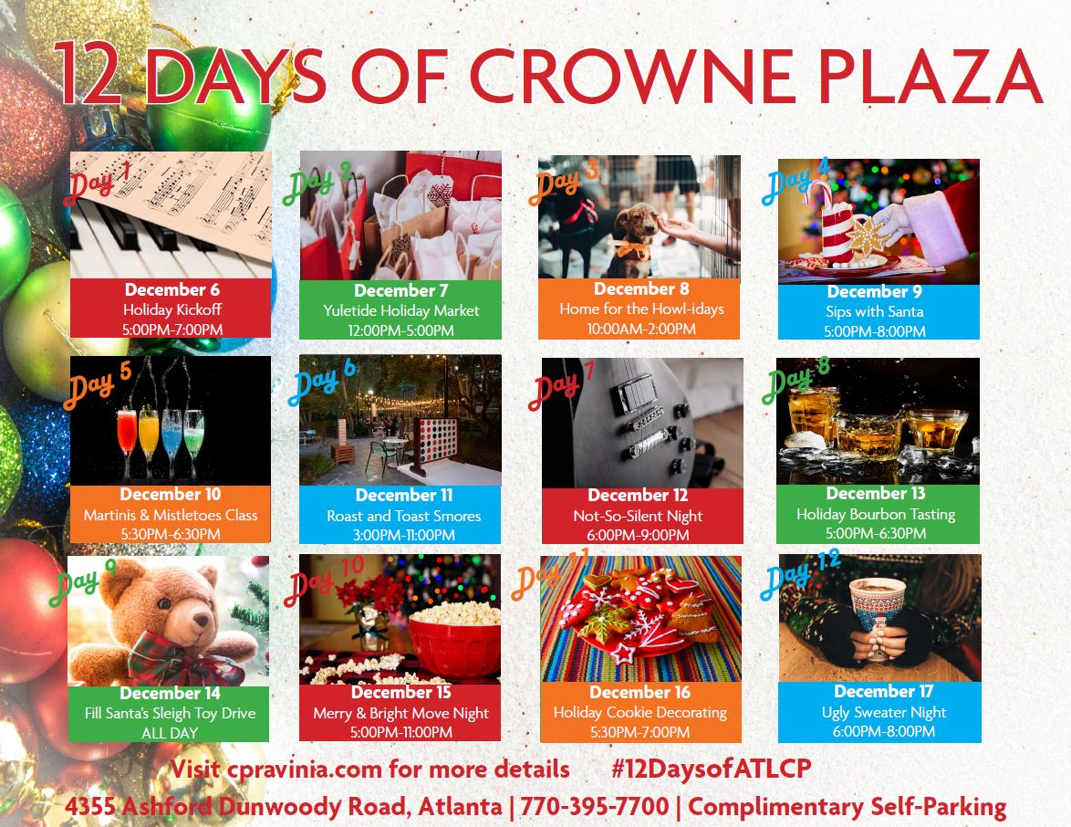 12 Days of Crowne Plaza