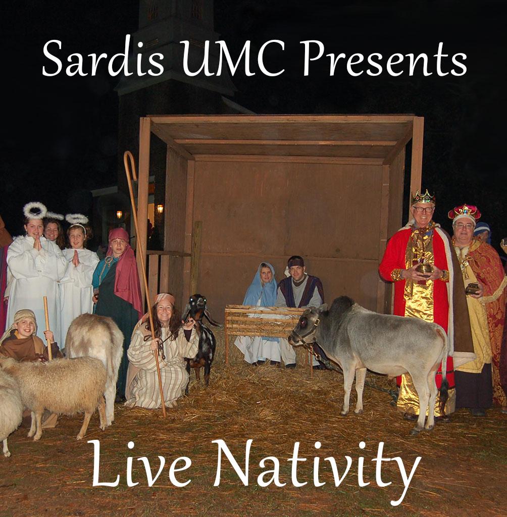 Sardis UMC Presents A Live Nativity