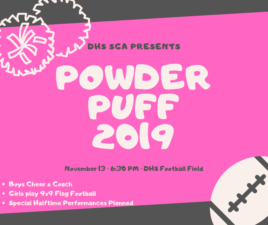 DHS Powder Puff Game