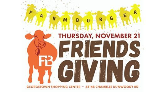 Farm Burger Friendsgiving in Dunwoory
