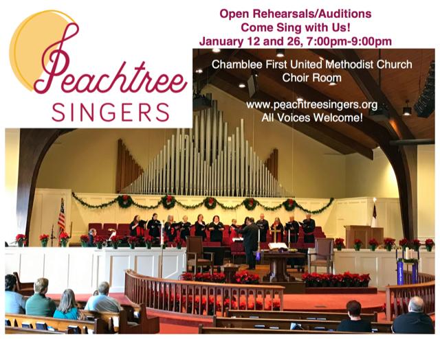 Peachtree Singers Open Rehearsal
