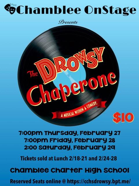 Chamblee Charter High School Presents The Drowsy Chaperone