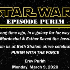 Star Wars Purim Carnival
