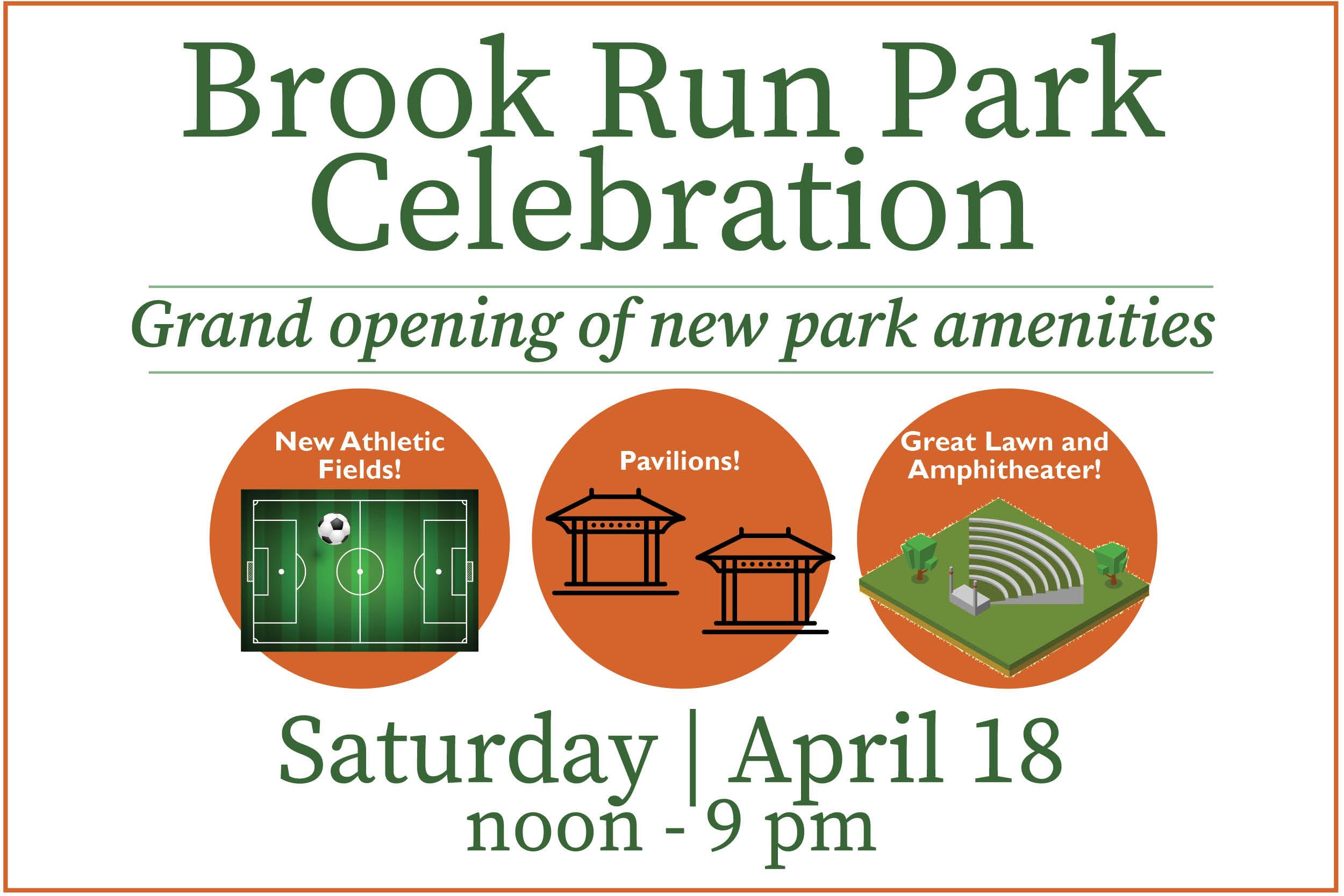 Brook Run Park Celebration