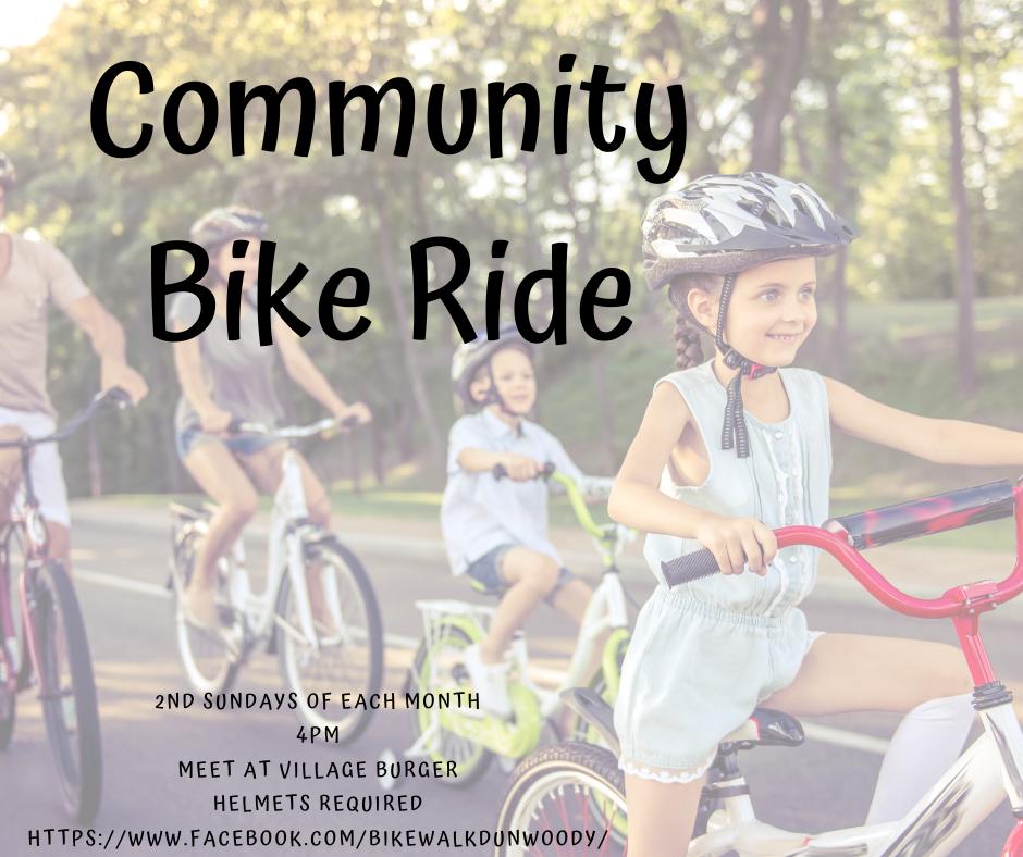 Monthly Dunwoody Community Bike Ride
