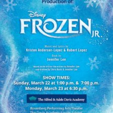Postponed:  The Davis Academy's All-School Musical: Frozen, JR.