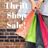 End of Season Thrift Shop Sale