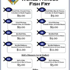 Fish Fry at All Saints - Open to the Community!