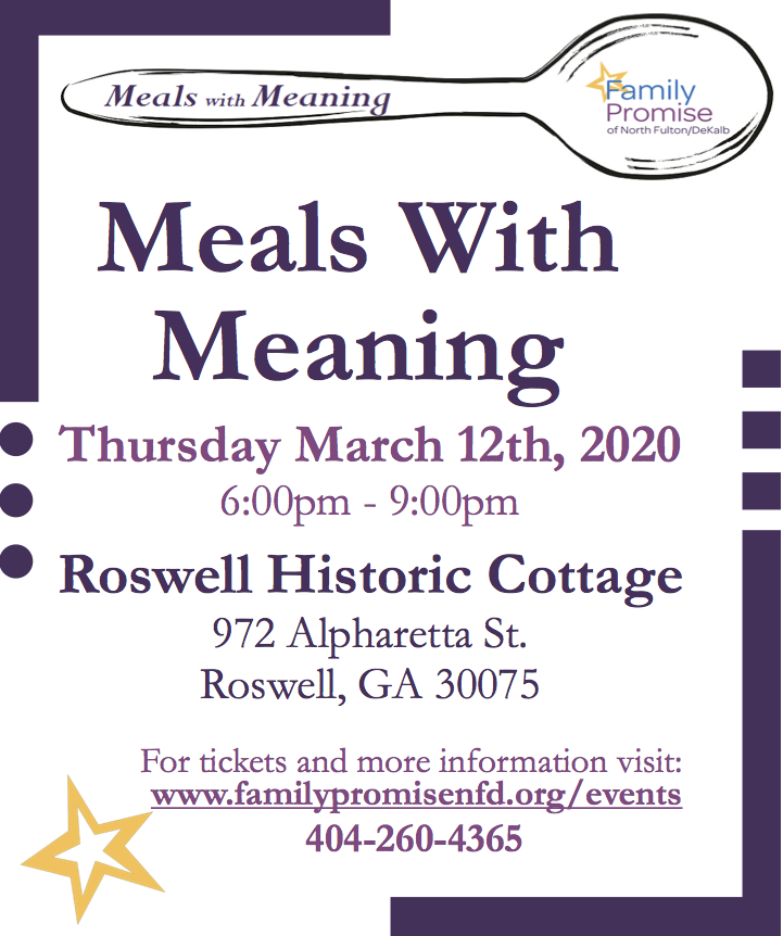 Meals With Meaning