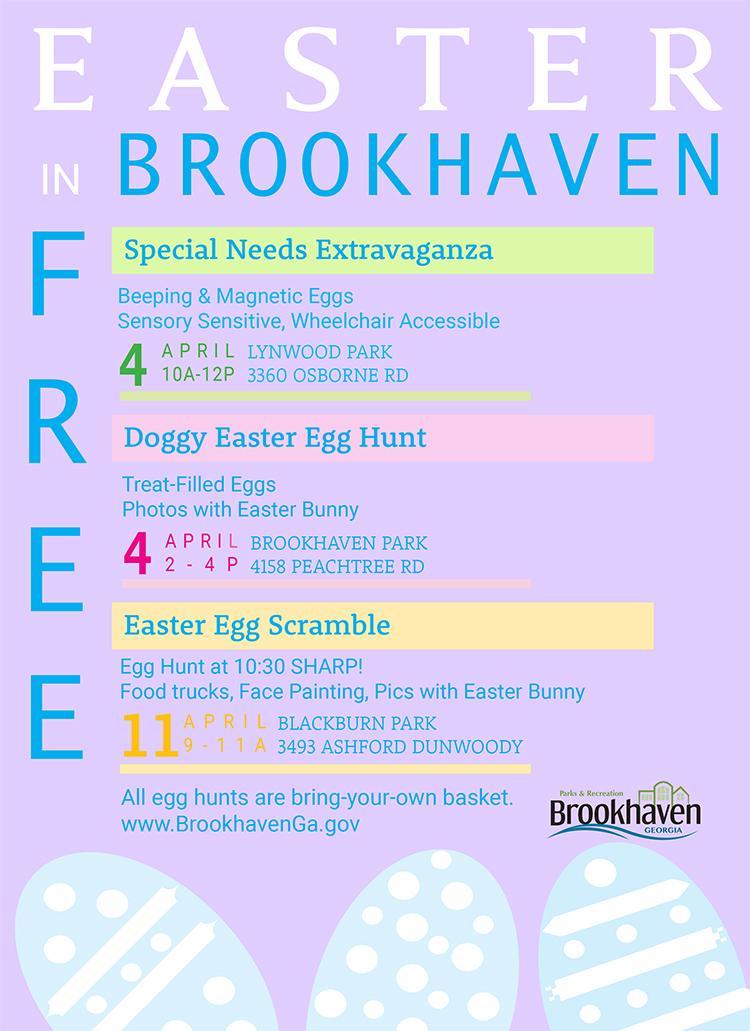 Eggstra-ordinary Easter Egg Hunt returns to Lynwood Park April 4