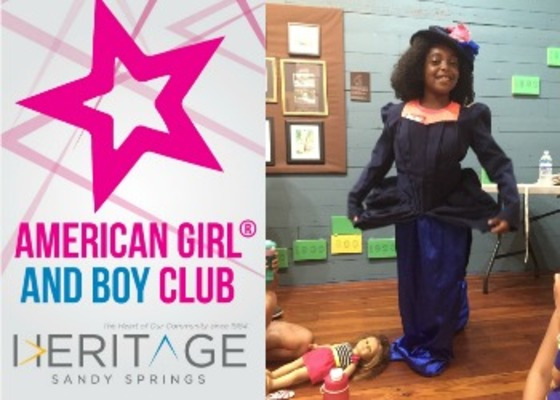 American Girl and Boy Club at Heritage Sandy Springs!