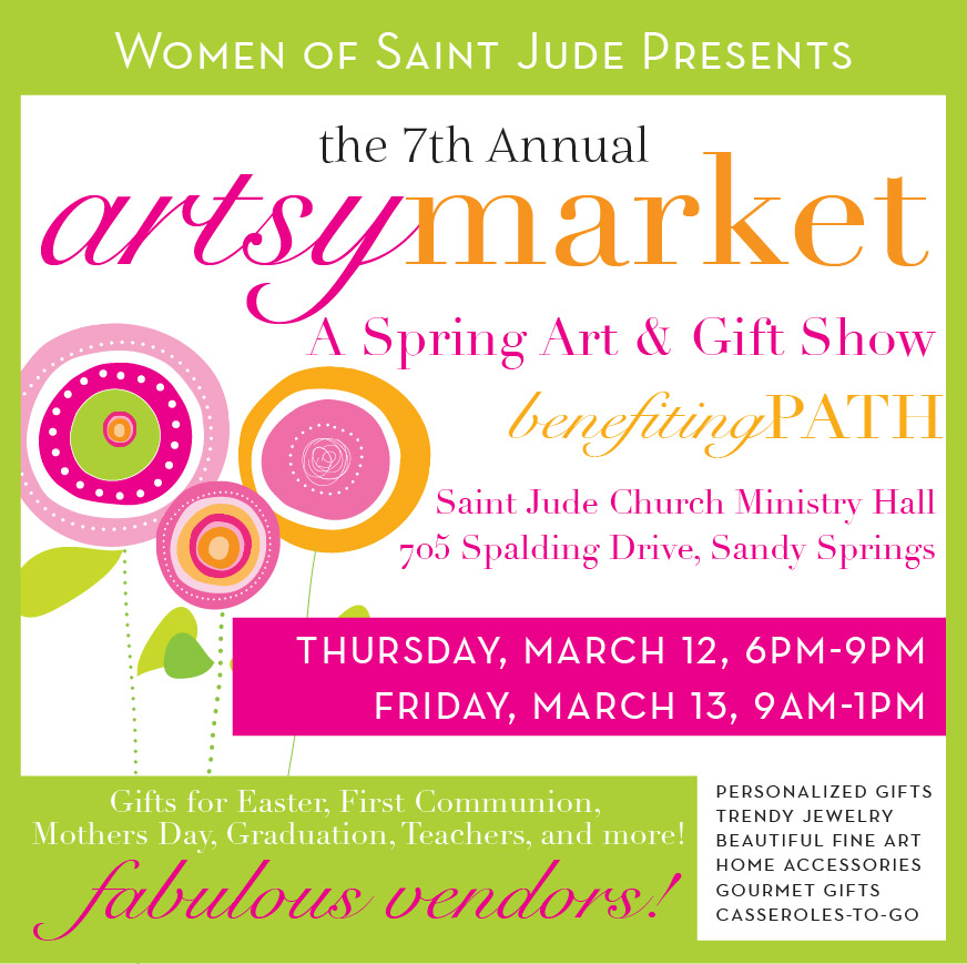 The 7th Annual Artsy Market at Saint Jude