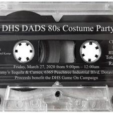Cancelled:  DHS DADS 80s Costume Party featuring 80s band: Klaus' Band Kamp