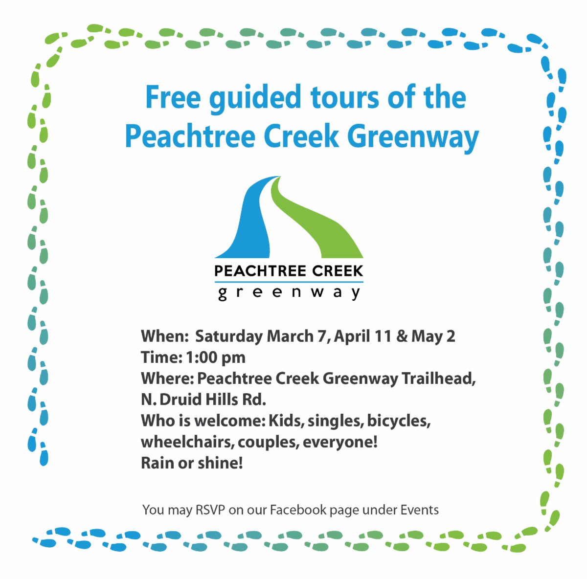 Free Guided Tour of the Peachtree Creek Greenway!