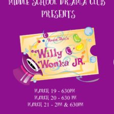Cancelled:  Willy Wonka Jr. Musical