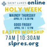 Saint Luke's Maundy Thursday Online