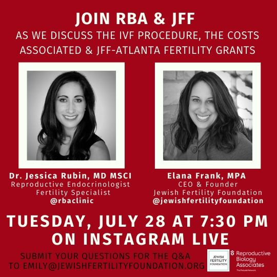 Instagram Live with RBA & JFF- The IVF Procedure
