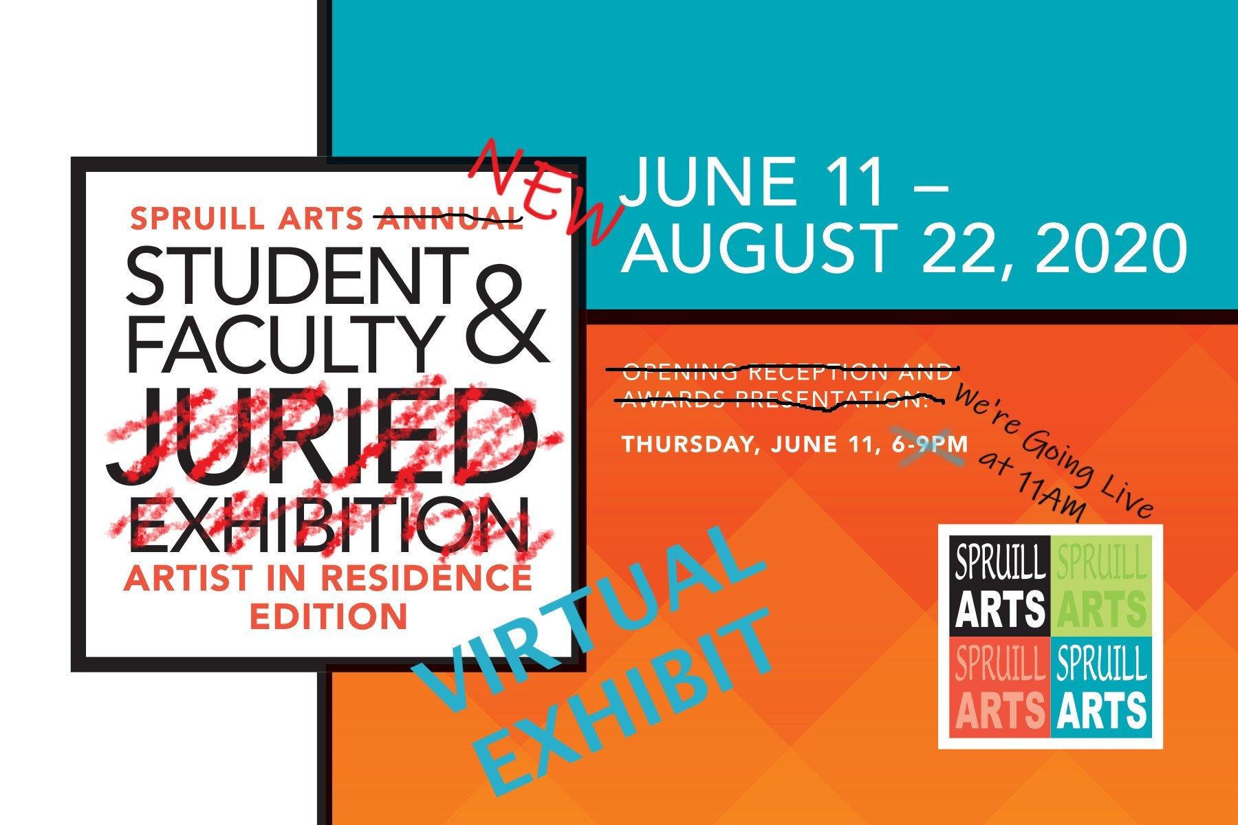 Spruill Gallery's First Ever Virtual Art Exhibit!