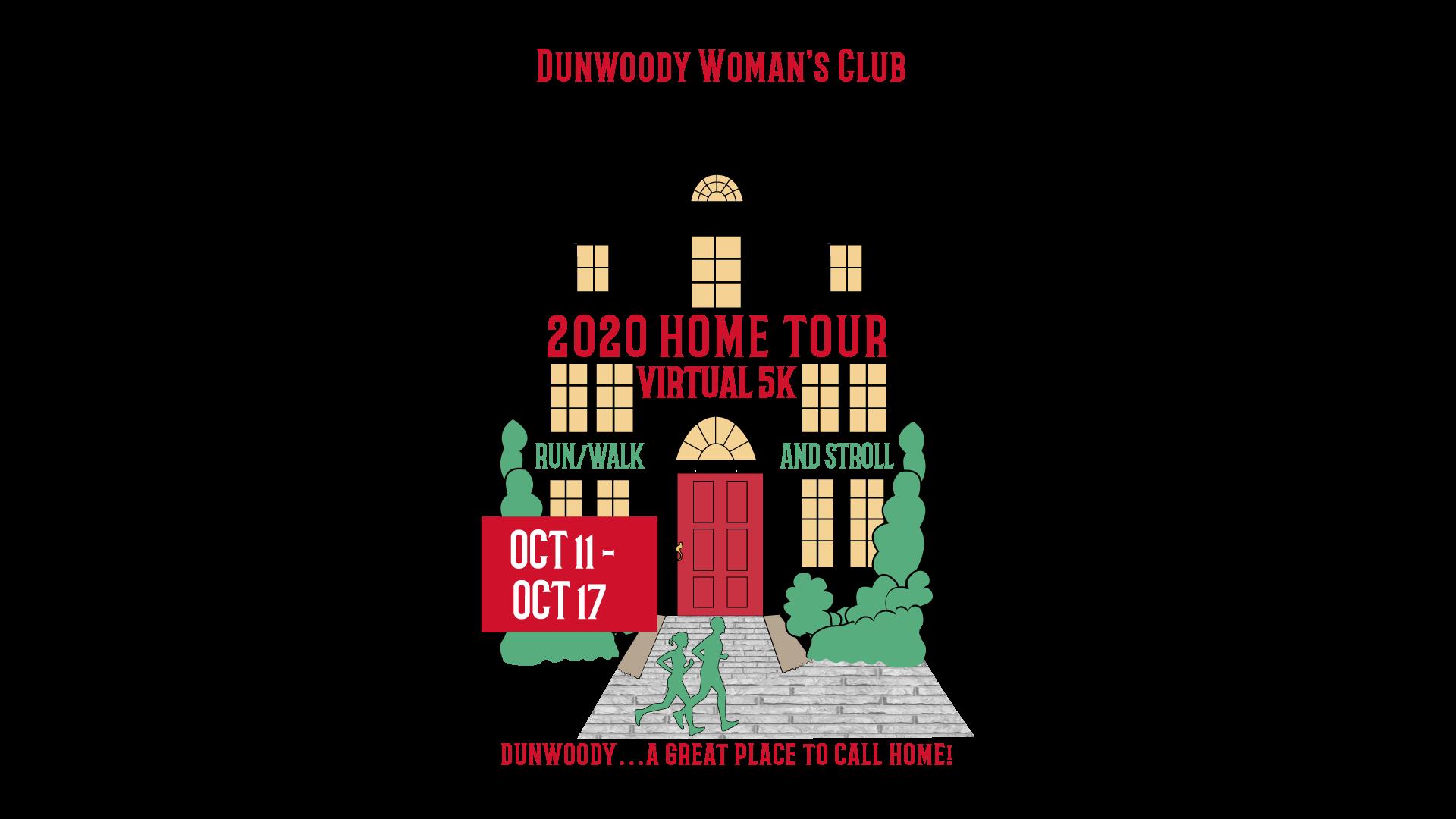 Dunwoody Woman's Club 2020 Home Tour Virtual 5K Run/Walk and Stroll