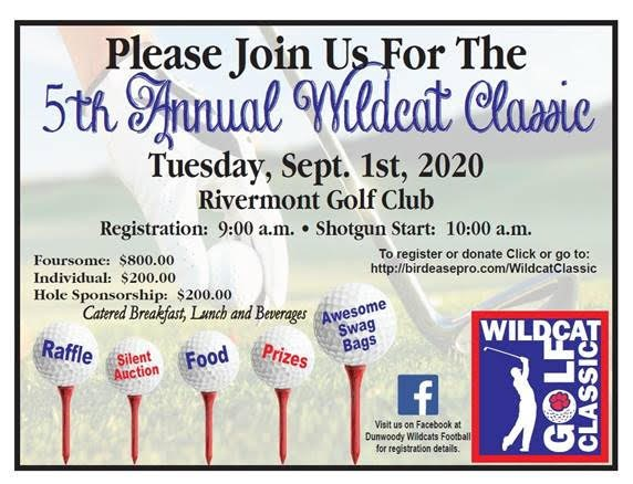5th Annual Wildcat Classic at Rivermont Country Club