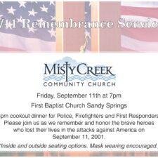 911 Remembrance Service