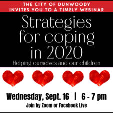 Webinar: Strategies for coping in 2020: Helping ourselves and our children