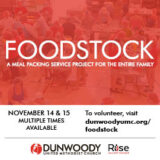 Foodstock Meal Packing Event
